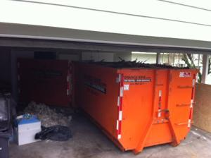 Orange Bins Bin Rental