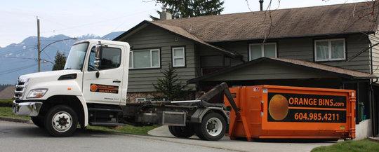 Junk Bin Rental Vancouver Disposal Dumpster Rentals Orange