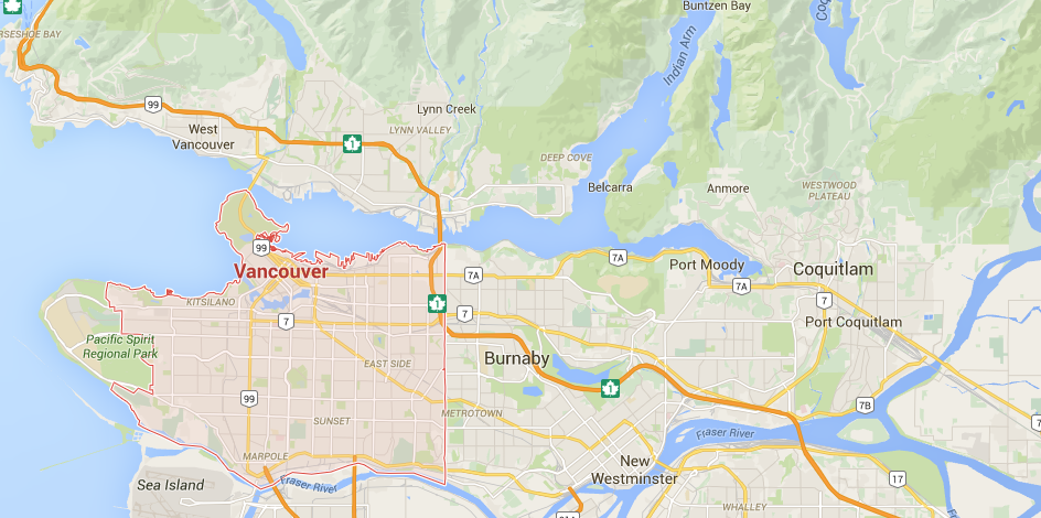 We deliver bins to Vancouver, Burnaby, west vancouver, new westminster, coquitlam, bc